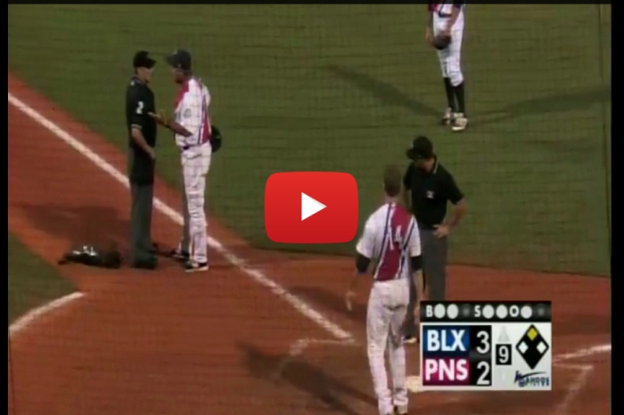 Minor league player, manager get their money's worth after ejection