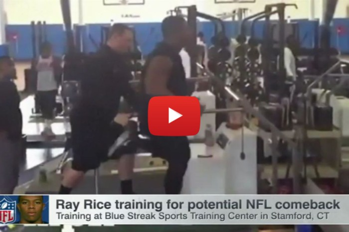 Ray Rice is getting support from the most unlikely source