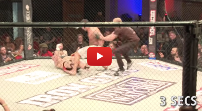 The World's Fastest Knockout Took 3 Seconds. Don't Blink.