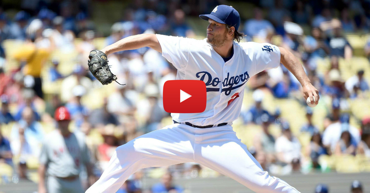 Clayton Kershaw bests Mike Trout in historic battle of reigning MVP's