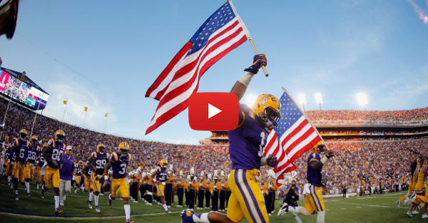 See where Louisiana ends up on list of 12 best college football states