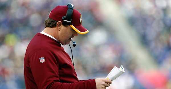 Jay Gruden goes scorched earth with this mass firing in Washington
