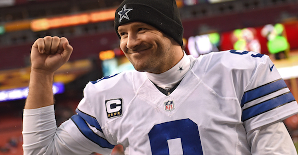 Is Tony Romo on the same level as Cowboys legends Troy Aikman, Roger Staubach?