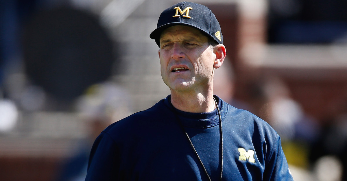 """Jim Harbaugh on the season opener at Utah: """"That's why you signed up to come to Michigan"""""""