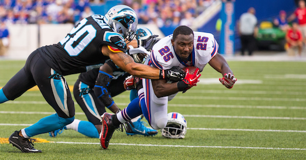 LeSean McCoy reportedly injured at Bills practice