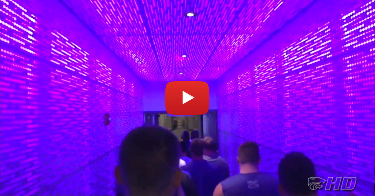 Kansas State's new football training facility is extremely player friendly