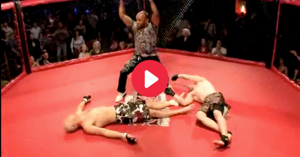Crazy Double Knockout Reminds Us MMA Isn't for the Weak