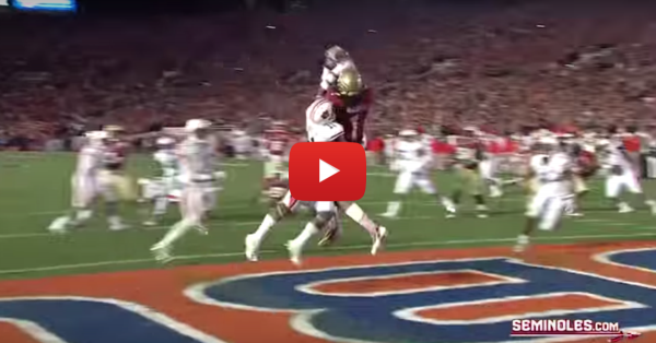 Top ten plays from Florida State's 2014 BCS National Championship game