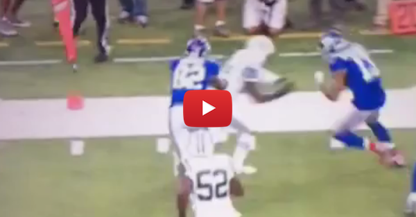 Odell Beckham Jr. trucked over Darrelle Revis like he was nothing