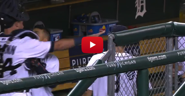Tigers teammates Jose Iglesias, James McCann engage in visible dugout fight