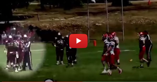 High School Player Kicked Off Team for Shoving Referee