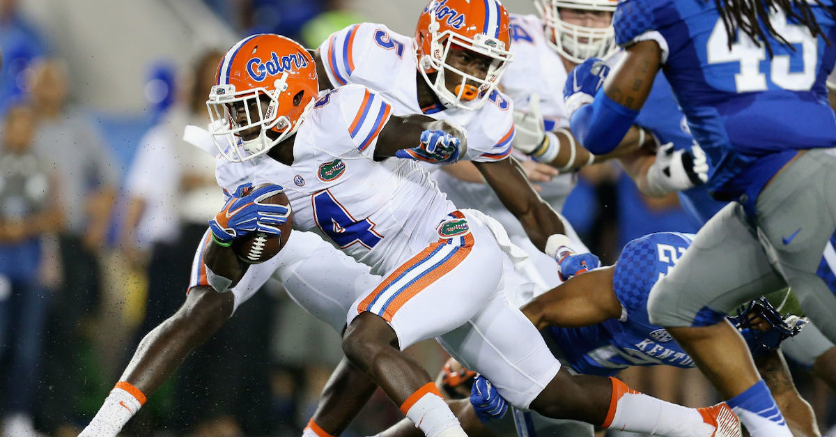 Florida Gators with a chance to prove that them winning the SEC East isn't crazy talk on Saturday