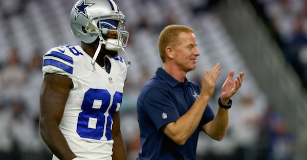 Cowboys coach Jason Garrett responds to Dez Bryant's recruitment of one of the top remaining free agents