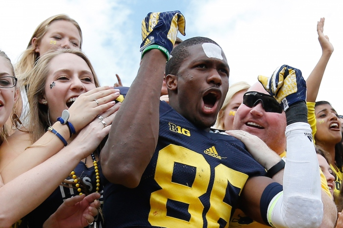 "One ESPN expert likes Michigan as a ""best bet"" this weekend"