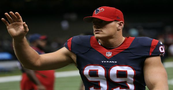 "J.J. Watt's pick for best ""football player in the world"" isn't quite who you'd think"