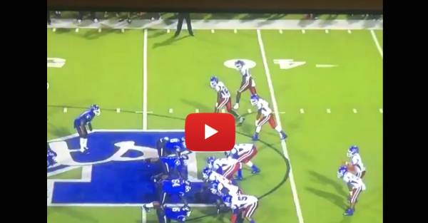 Watch 2016 three-star Florida commit Quincy Lenton decleat this opposing receiver