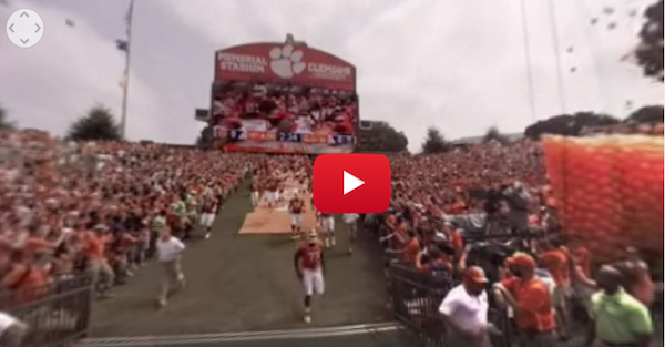 Check out this awesome 360 degree view of Memorial Stadium