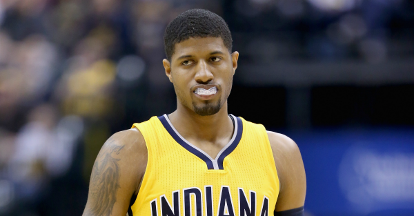 Paul George is not excited about playing small ball