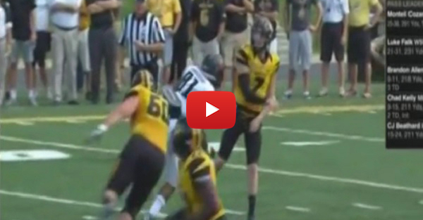 SE Missouri player ejected after blatant cheap shot to Mizzou's Maty Mauk