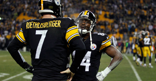 Antonio Brown frustrated with Michael Vick's play in place of Ben Roethlisberger