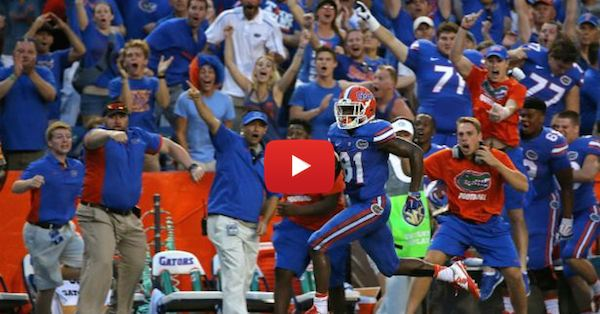 #TBT to when Antonio Callaway beat Tennessee with this miraculous 63-yard TD