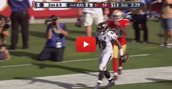 Ravens player celebrates a TD with the Pee-Wee Herman Dance and it's hilarious
