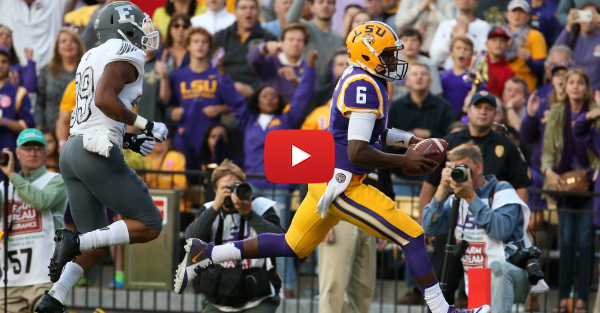 This LSU super fan loves Brandon Harris so much he tirelessly made this insane highlight video