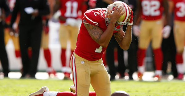 NFL players reportedly in 'real anger and dismay' over league's latest decision on Colin Kaepernick