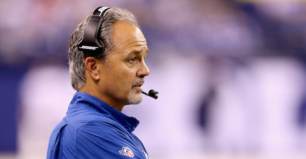 Fired head coach Chuck Pagano has already reportedly spoken with a team about his possible next job
