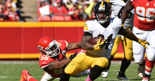 Two Steelers teammates were fined, showing yet again the NFL has lost its mind