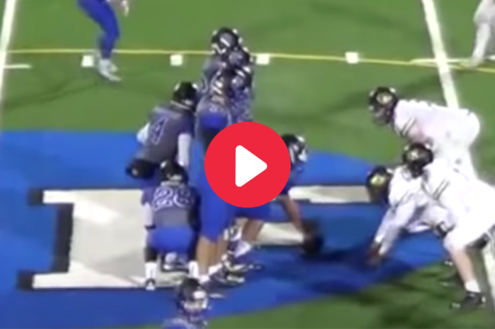 "High School Plays ""Hide and Seek"" for Perfect Trick Play"