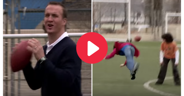 Peyton Manning Cusses Out, Pelts Kids in Classic SNL Skit
