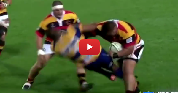 This 300-pound Rugby player can run, hit and kick as good as anyone in the NFL