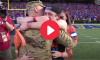 UF Military Surprise Dad