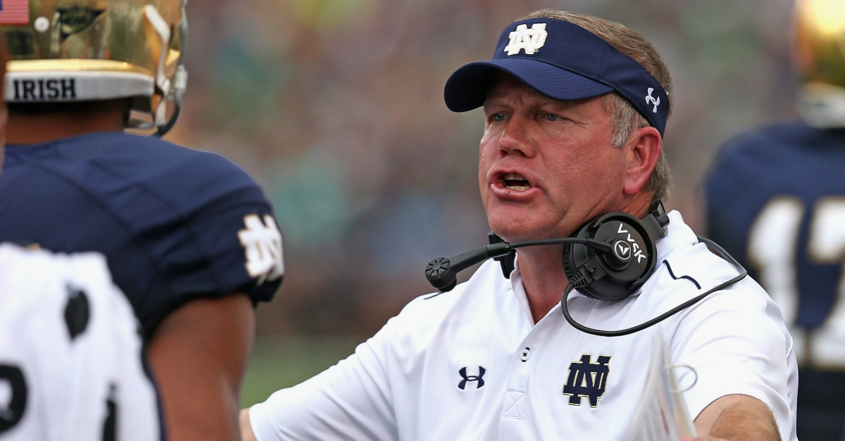 "ESPN analyst slams NCAA ""overstep"" in penalties handed down to Notre Dame football"