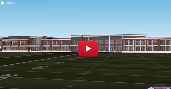 Clemson about to break ground on impressive new facility