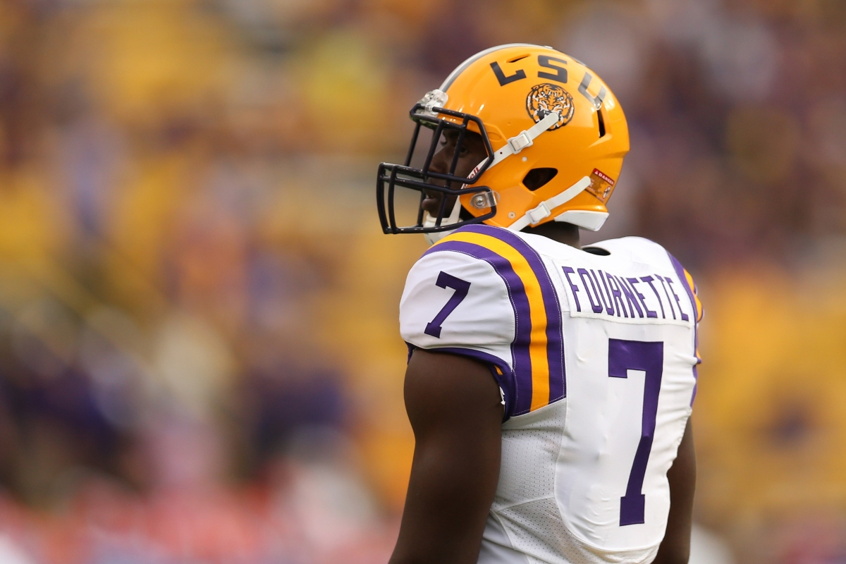 """Former Cowboys exec: Derrius Guice """"will prove he's a better player than"""" Leonard Fournette"""