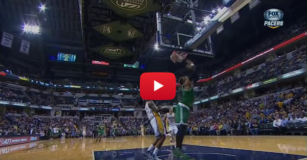 Jae Crowder made the best shot of the year that won't count