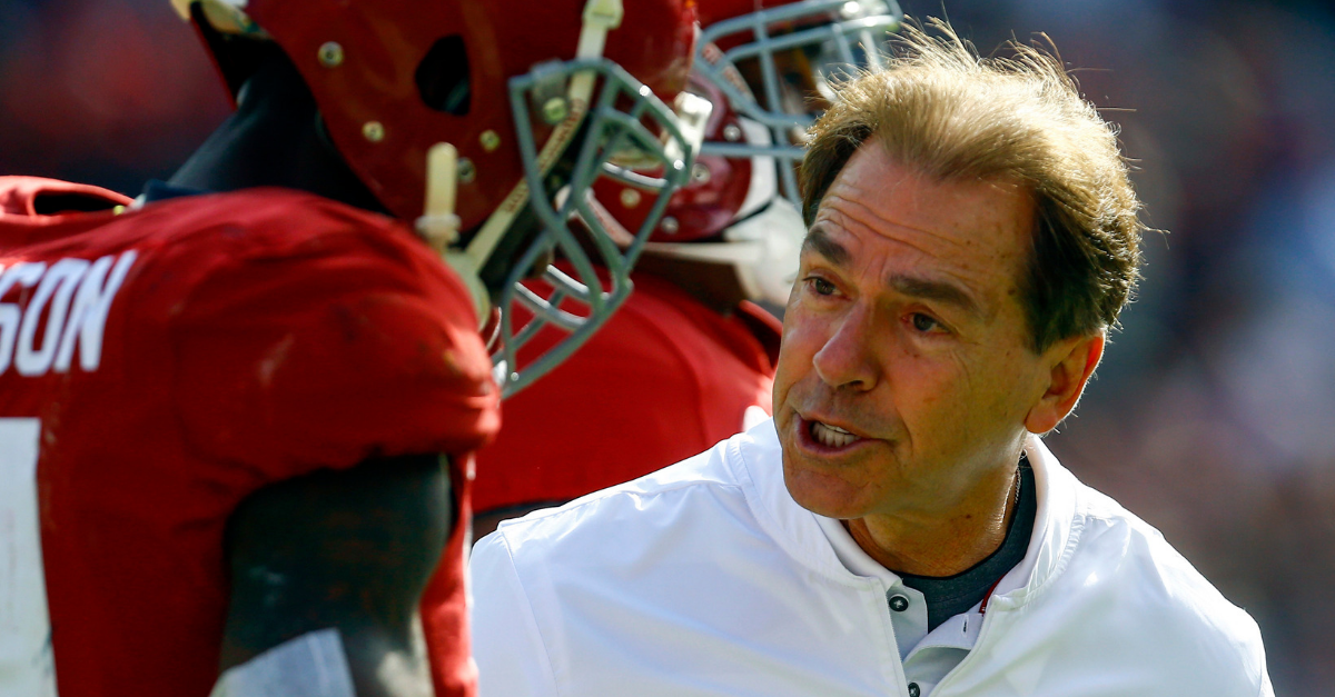"Alabama Coach Details ""Getting My Butt Chewed"" By Nick Saban for Leaving"