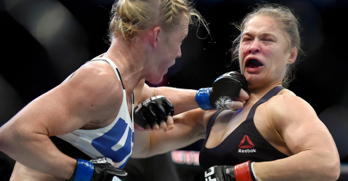 The Time Holly Holm Knocked Ronda Rousey's Lights Out