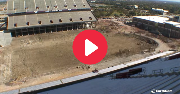Kyle Field's $450 Million Upgrade in Mesmerizing 1-Minute Video