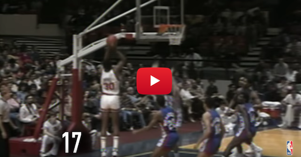 Relive Bernard King's epic Christmas Day game against the Nets
