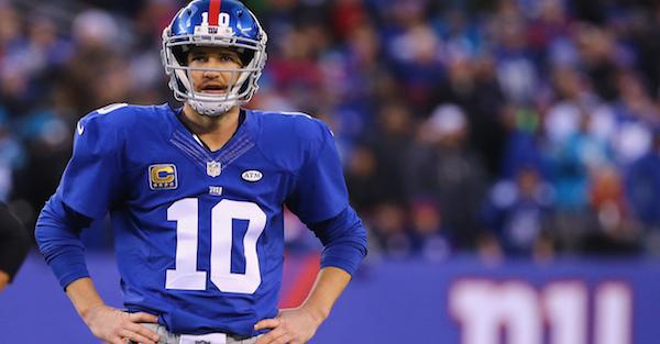 Former Super Bowl champion speaks out on Eli Manning's benching