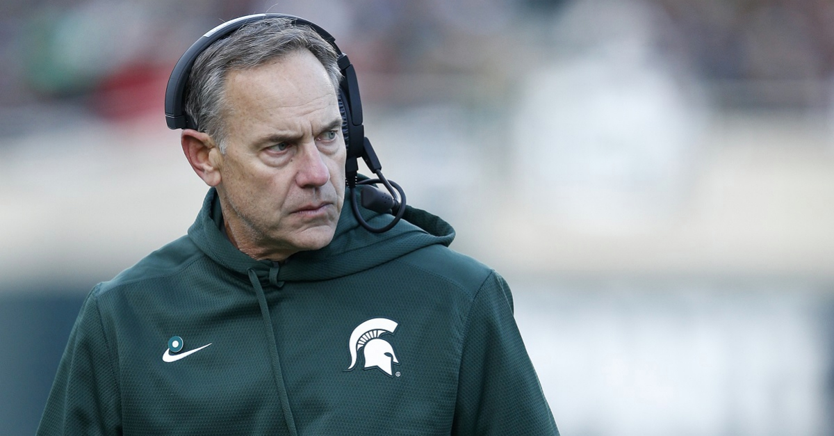 Mark Dantonio did not take kindly to a radio interview with FOX Sports