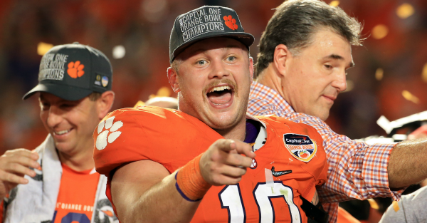 One reporter was still dumb enough to ask about 'Clemsoning'