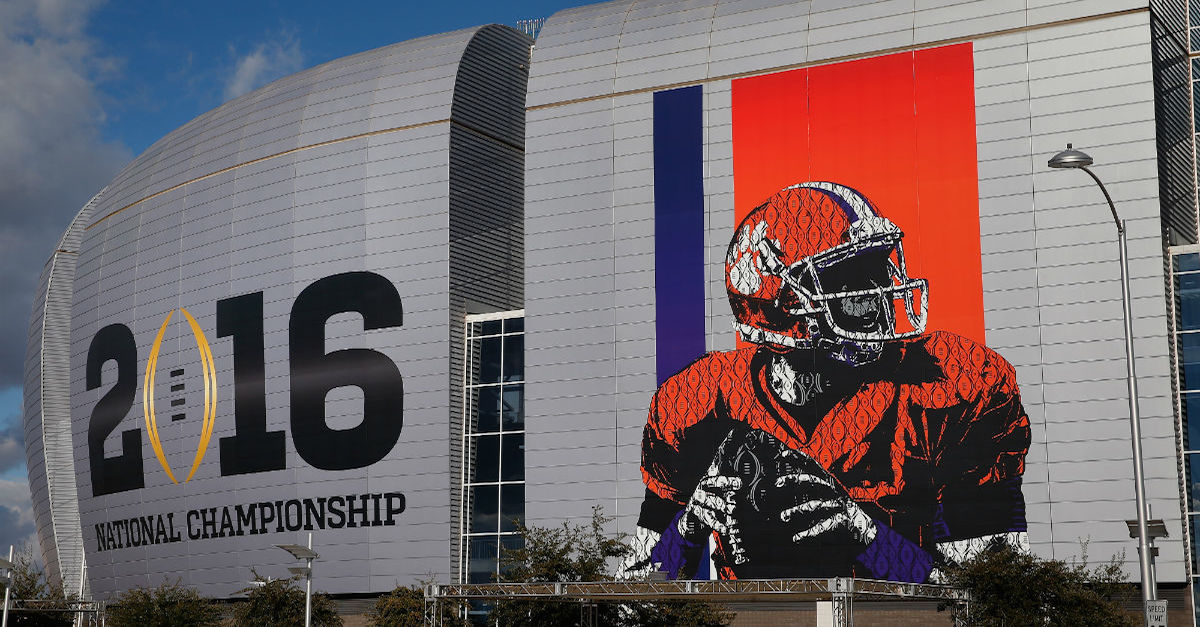 Here are the 14 different ways to watch the College Football Playoff championship game