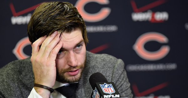Jay Cutler's wife pushed him out of retirement and back to the NFL