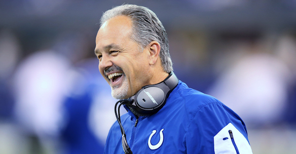 Before re-signing Chuck Pagano, negotiations reportedly broke down between Colts and this big-name head coach