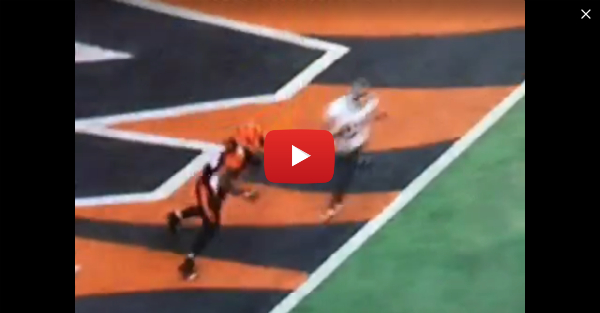 If you thought Vontaze Burfict's hit on Antonio Brown was dirty, check out what he did last week