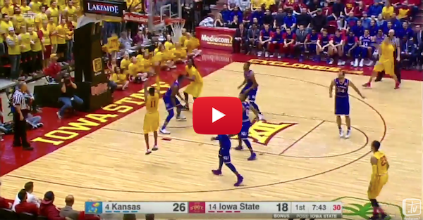 Iowa State makes some more Hilton Magic and takes down Kansas